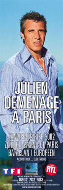Julien Clerc déménage
