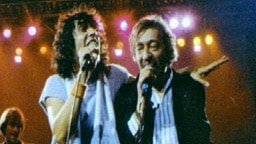 Julien Clerc et Serge Gainsbourg