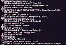 Pochette vero de Claude Francois