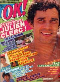 Julien Clerc dans le magasine OK