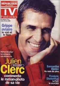 Julien Clerc dans TV Hebdo
