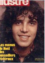 Couverture de la revue Suisse Illustre avec Julien Clerc