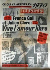 Julien Clerc et France Gall