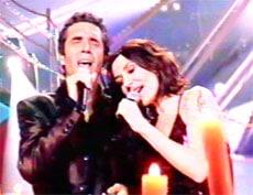 """Julien Clerc et Zazie chantent """"Entrer dans la lumière"""""""
