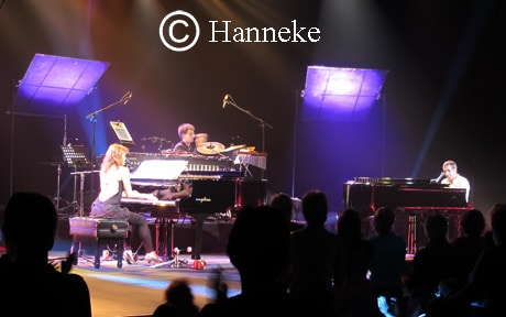 Julien Clerc chante à Longjumeau