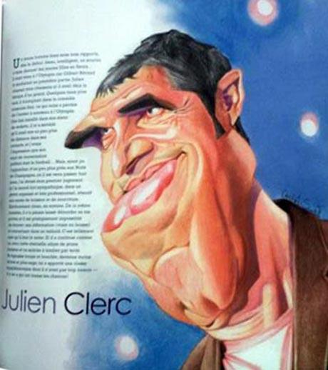 Julien Clerc par Gervais
