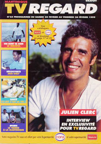 Julien Clerc dans TV Regard 1999