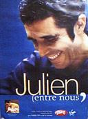 Affiche du concert entre-nous de Julien Clerc