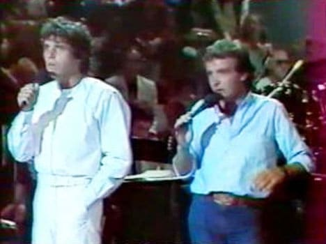Julien Clerc et Michel Sardou
