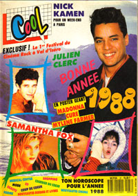 Julien Clerc dans Cool 1987