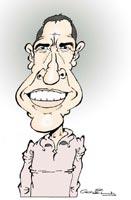 caricature julien clerc