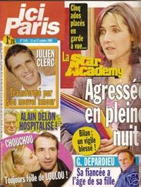 Julien Clerc dans Ici Paris
