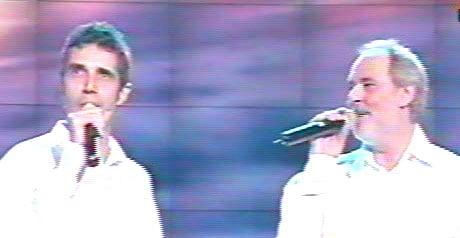 Julien Clerc et Maxime Le Forestier