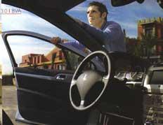 Julien Clerc et la Peugeot 407
