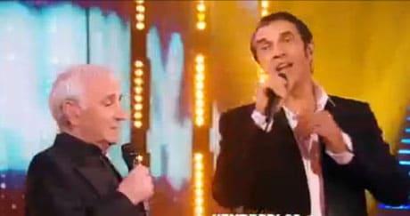 julien clerc et charles aznavour