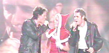 Julien Clerc chante avec Marc Lavoine et Lââm