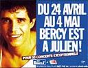 Julien Clerc à Bercy