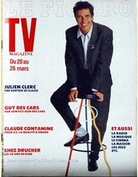 Julien Clerc en couverture du Figaro Magazine