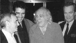 Julien Clerc, Aznavour et Léo Ferré