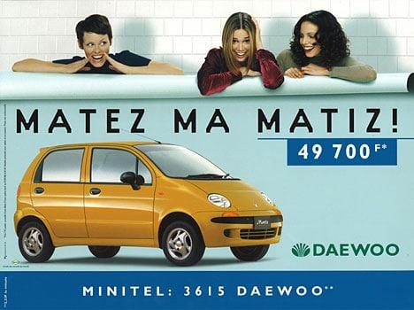 Matez ma Matiz, slogan inspiré de Matez ma métisse!