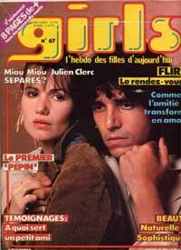Julien Clerc et Miou-Miou dans Girls