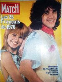 Julien Clerc et Miou-Miou font la couverture de Paris Match