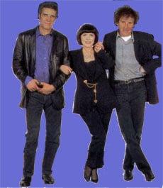 Julien Clerc, Mireille Mathieu, Alain Souchaon