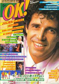 OK 1985 avec Julien Clerc