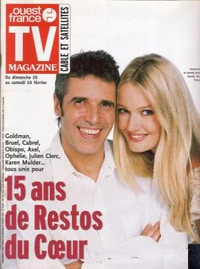 Julien Clerc dans TV Magazine