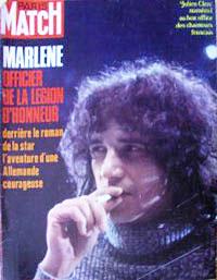 Couverture de Paris Match avril 1971
