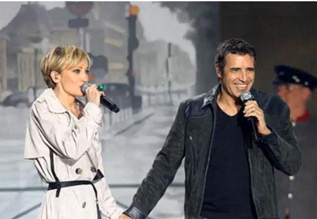 Patricia Kaas et Julien Clerc
