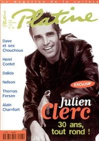 Julien Clerc dans Platine