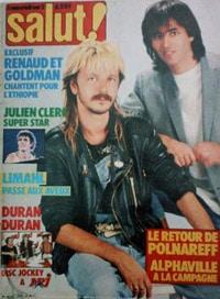 Julien Clerc dans Salut 1985