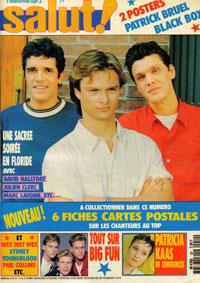 Julien Clerc dans Salut 1990