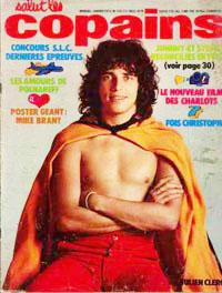 Julien Clerc dans Salut les Copains janvier 1973