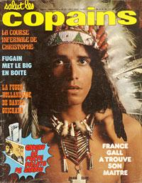 Julien Clerc dans Salut les Copains novemre 1974