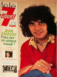Julien Clerc dans Télé 7 jours 1980