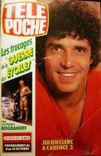 Julien ClercTELE POCHE N°921 du 5 octobre 1983