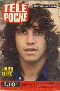 Tele Poche 1972 avec Julien Clerc