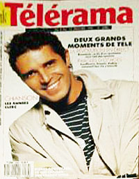 Julien Clerc fait la couverture de Télérama