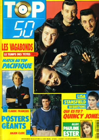 Julien Clerc fait la couverture de Top 50