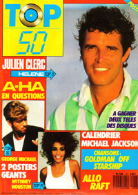 Top 50 1987 avec Julien Clerc